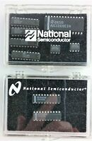 National Semiconductor Chips - Overture Audio Attenuator & 12-Bit A/D Converter