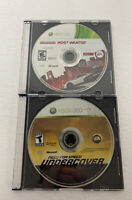 Need for Speed: Most Wanted & Undercover Xbox 360 Disc Only Cleaned! Racing Lot