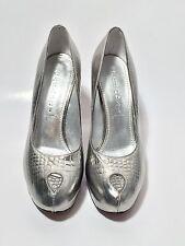 Casadei Size 9 B Ladies Silver Heels