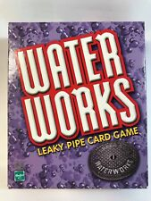 Water Works Leaky Pipe Card Game by Hasbro 2002 Edition Parker Bros .