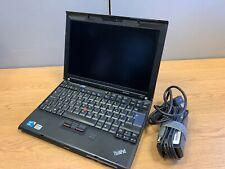 Lenovo ThinkPad X201 Ultrabook Core i5 2.53Ghz 4GB RAM 80GB SSD Windows10