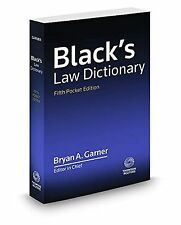 Black's Law Dictionary NEW BOOK