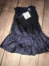 Janie And Jack 3-6 Months Dress NEW Lavender Land Shimmer Navy