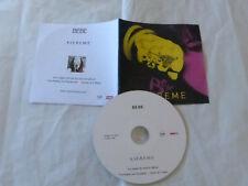 BEBE - K.I.E.R.E.M.E - FRENCH ONLY PROMO CD !!!!!!!!!!!