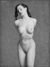 Dita von Teese Nude B&W Fine Art 8.5x11 signed photo by Craig Morey: 81705.11