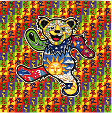 DANClNG BEARS Dead BLOTTER ART perforated sheet paper psychedelic art