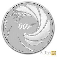 2020 1oz James Bond 007 Silver Bullion Coin