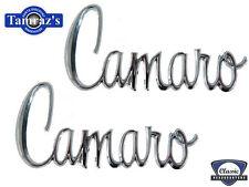 """1970 -  1975 Camaro  """"Camaro"""" Fender Emblem NEW  Pair"""