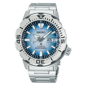 Seiko Prospex Save The Ocean Frost Monster SE 42.4 MM Automatic Watch - SRPG57J1