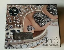 CIATÉ CIATE JEWEL PEDICURE MIRROR BALL NAIL KIT ~ EMBELLISH TOES