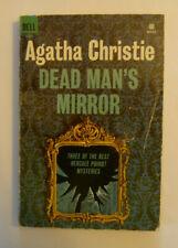 AGATHA CHRISTIE - Dead Man's Mirror (1962 Dell Books 1699) Paperback