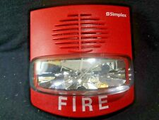 Simplex 4903-9418 Fire Alarm Horn Strobe Lights FREE SHIPPING !!!