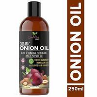 Luxura Sciences Onion Hair Oil with 14 Essential Oils, Multi-Purpose Hair 250 Ml