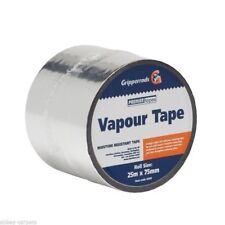Laminate & Wood Joining Silver Vapour Tape 25 Metre x 75mm Width