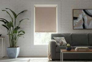 CUT TO SIZE StyleWell Cordless Blackout Roller Shades - Linen
