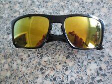 Oakley black frame Sliver mirror sunglasses. OO9262-05.