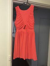 Miss Shop Coral Dress Size 14
