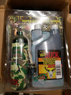 4 Pack of MAD BUCK Super Concentrated Deer Hog Scent Cell COMBO w/Camo Wick can