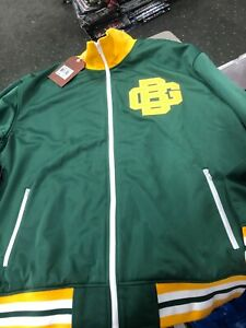 Green Bay Packers Mitchell and Ness NFL Preseason Warm Up Track Jacket