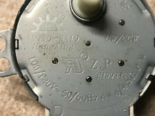 tyj50-8a19 SYNCHRONOUS MICROWAVE OVEN MOTOR 4/4.8RPM FREE SHIPPING! 218D