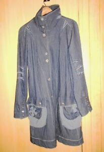 Manteau bleu jean ICONOCLAST (ancien designer GIRBAUD)  40 ( possible 38 )  TBE