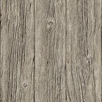 Papel pintado Muriva - DE LUJO granulado Realista Edad Madera Paneles - Gris -