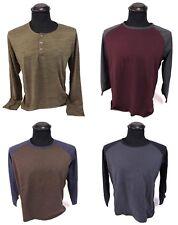 4 Stück MEXX Langarm Shirt Herren Gr. L / XL dunkle Farben T-Shirt guter Zustand