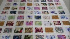 Hawaiian style machine pieced patchwork quilt top #NJ-65