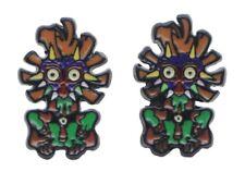 Legend of Zelda Majora's Mask Enamel Metal Stud Earrings
