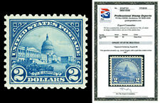 Scott 572 1923 $2.00 U.S. Capitol Mint NH Centered 98 Graded 85 with PSE CERT!