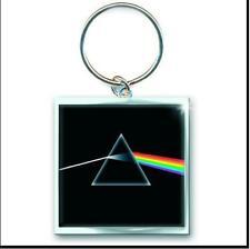 Pink Floyd P icona logo in metallo e portachiavi in pelle ufficiale