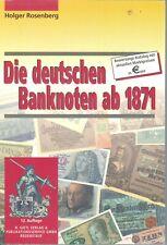 Rosenberg/Grabowski: Die deutschen Banknoten ab 1871 (12. Aufl.2001)