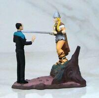 Vintage Star Trek Voyager Doctor Miniature Collectible Diorama Doctor Zimmerman