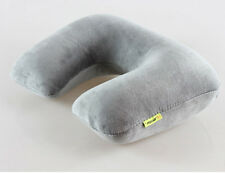 Travel U-Shape Pillow Memory Foam Neck Support Head Rest Car Comfortable Cushion