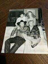 Garth Brooks & Empty Nest Cast - McNichol, Mulligan ORIGINAL 7x9 B&W Press Photo