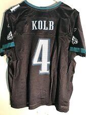 Reebok Women's NFL Jersey Philadelphia Eagles Kevin Kolb Black Alternate sz L