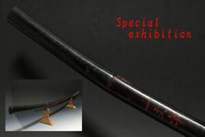 Japan Antique long Tachi Shirosaya 一文字 Koshirae sword samurai tsuba katana yoroi