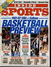 Inside Sports's 1991-92 NBA & College Basketball Preview