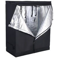 "Indoor Grow Tent Room Reflective Hydroponic Non Toxic Hut 48""x24""x60"""