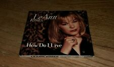 How Do I Live Dance Mix Single by LeAnn Rimes CD LeAnne Rymes Curb Cutie Sexy