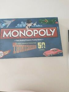 50 Years Limited Edition THUNDERBIRDS Monopoly Game Special Tokens New collector