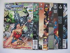 *DC UNIVERSE ONLINE LEGENDS #1-11, 13-26 (DC 2011) $75 cover price