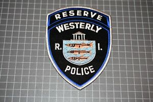 Westerly Police Rhode Island Reserve Patch (S01-2)