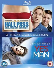 Hall Pass - Enlarged Edition / Yes Man - Blu-ray - 2 Disc  - BRAND NEW SEALED