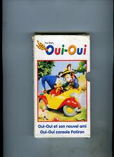 VENDS LOT DE 5 VHS-OUI OUI-