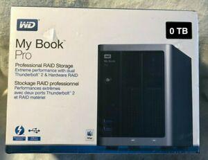 Western Digital WD My Book Pro (Diskless) Professional RAID Storage System