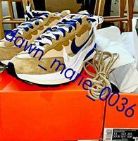 Nike x sacai VaporWaffle Size 11 Sesame Blue Void DD1875-200 100% CONFIRMED BNIB