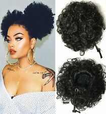 Beauty Forever Fashion Curly Ponytail, Twins Buns Clip In Elastic Drawstring