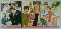 Love Control Hot Steamy Glasses and Time Lag English Manga LOT OF 3