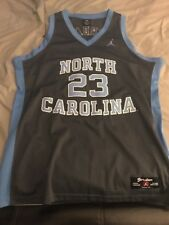 Nike Authentic Sewn Rare Throwback UNC Tar Heels Michael Jordan Jersey Size L